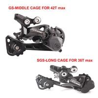 SHIMANO DEORE RD M6000 10 Speed SGS GS Long Middle Cage MTB Bicycle Rear Derailleur bicycle rear derailleur -
