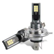 H4 светодиодный лампы Противотуманные фары Дневные Фары Светильник H7 H1 H11 H8 H3 Авто Передние противотуманные лампы сигнала поворота светильн...