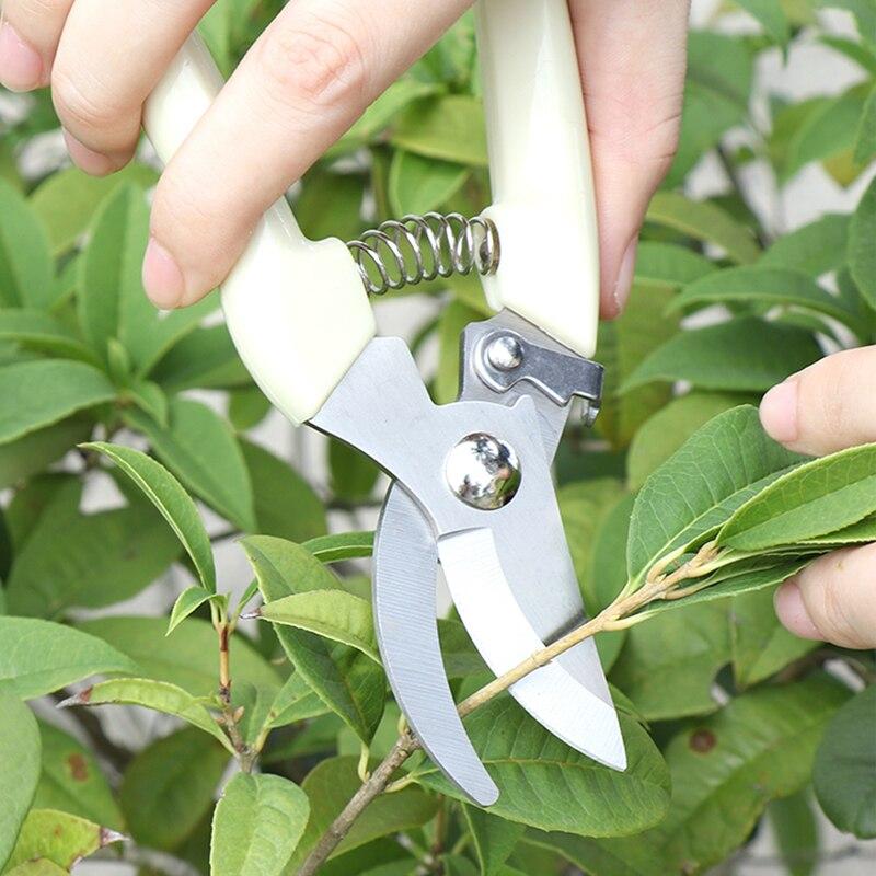 17см секатор резак дерево Садовничая Подрежа ножницы режущие инструменты из нержавеющей стали набор домашних инструментов анти-скольжения