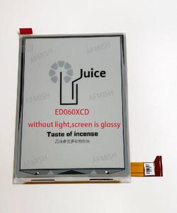 Image 5 - 6 inch 100% new eink LCD Display screen ED060XCD  for onyx book ceaser 2 screen with backlight no touch free shipping