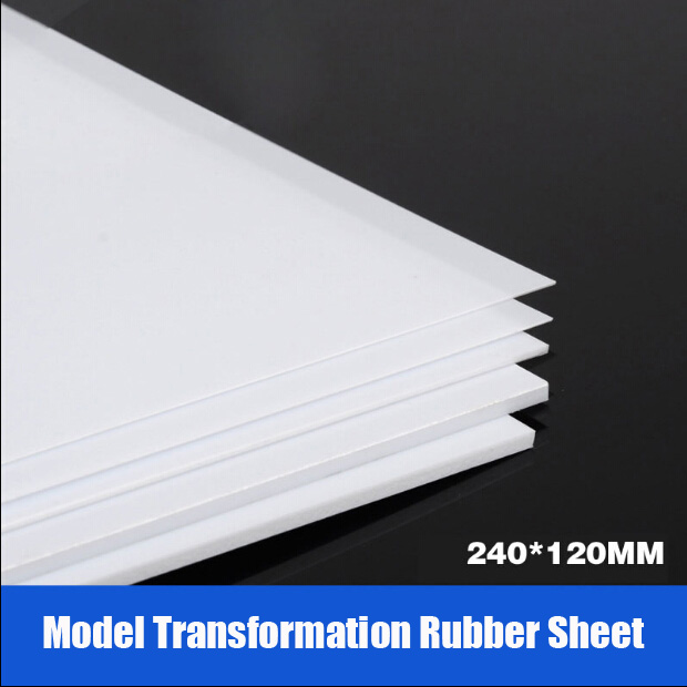 For Model Transformation Tools GK Transformation ABS Rubber Sheet DIY 24*12CM