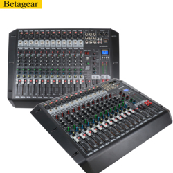 Betagear professional digital mixing console fx122 controladora dj mixer controladora stage audio line array speaker professio