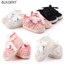 Fashion Brand Newborn Baby Shoes for Gir