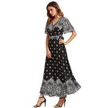 2019 женские платья большого размера платье Лучшие продажи богемные