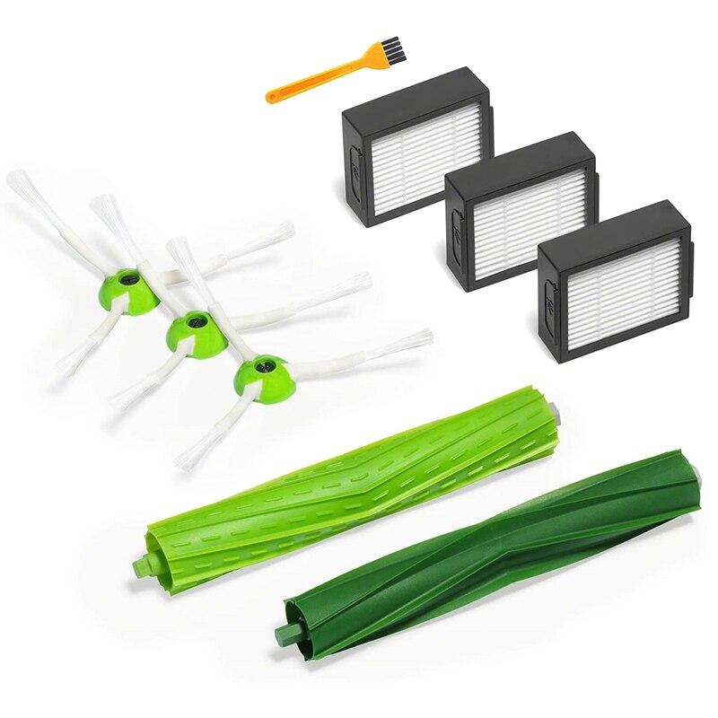 Запасные части для набора пополнения серии IRobot Roomba E и I, щетки для фильтров и резиновые щетки
