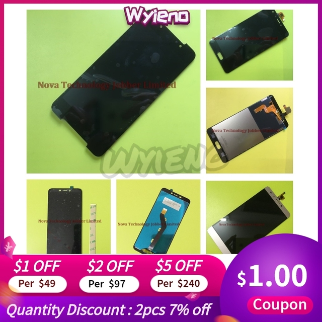 Wyieno Digitizer Panel For Infinix x5010 / x571 / x573 / x556 / X600 Touch LCD Display Screen Assembly + tracking