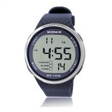 SYNOKE nurkowanie zegarek do pływania 100M zegarki wodoodporne Outdoor Sport elektroniczny zegarek mężczyźni zegarek Led 2019 relojes hombre digitales