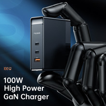 Mcdodo100w pd usb 3 em 1 carregador de carga rápida 3.0 do telefone móvel carregamento rápido multi plug adaptador para iphone12pro xiaomi 1 em 3