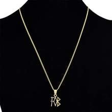 New fashion Minimalist Gold Rose Color Letter Name Initial Necklaces For Women Long Big Letter Pendant Necklace fashion letter crystal necklace women pendant zinc alloy pearl sweater necklaces for women long initial fashion necklace jewelry
