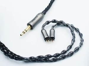 Image 3 - Bqeyz Lente 1 2Pin 0.78 Mm 8 Aandelen Verzilverde Hifi Oortelefoon Vervanging Kabel