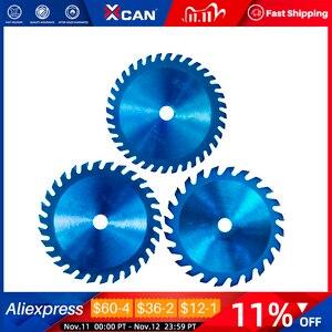 Image 1 - Xcan 1Pc 85x1 0/15Mm 24/30/36 Tanden Tct Hout Cirkelzaagblad Nano Blauwe Coating snijden Disc Hardmetalen Zaagblad