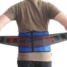 Mais tamanho xxxl xxxxl xxl cinta de volta médica cinto de apoio da coluna vertebral homens mulheres cintos respirável corset lombar dispositivo ortopédico