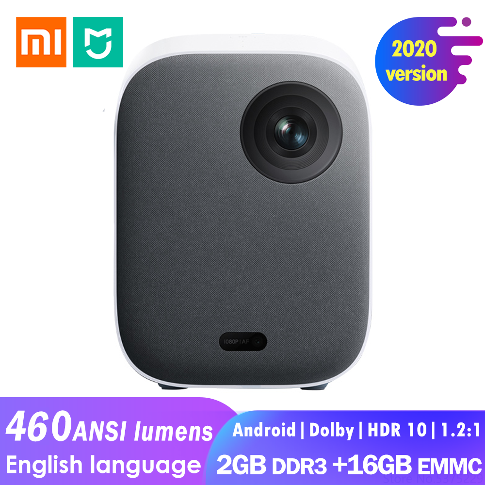 Xiaomi Mijia Projector Youth 2 Full HD 1080P 460 ANSI lumens Mini side projection Android