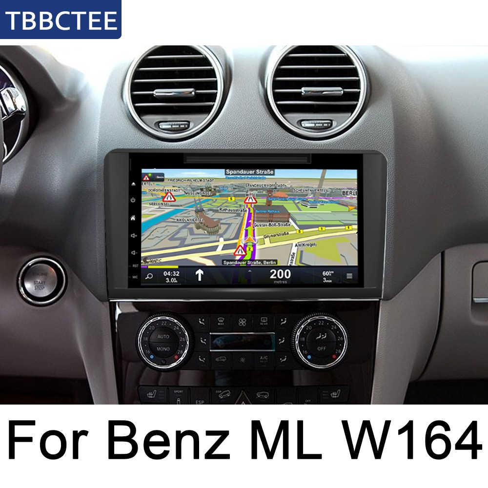 アンドロイド 2 喧騒オートラジオメルセデス · ベンツ Ml クラス W164 2005 〜 2012 車のマルチメディアプレーヤー GPS ナビゲーションシステムラジオステレオ