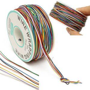 250 м 8-проводная цветная Изолированная P/N B-30-1000 30AWG обмотка провода обмотки кабеля
