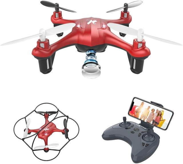 Zangão da câmera de atoyx com câmera hd não 4k mini zangão rc quadcopter fvp wifi com grande angular hd alta altura headless modo de espera