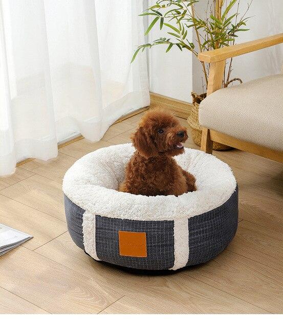 Cozy Pup Puppy Bed %100 Snuggly Cozy & Warm 1