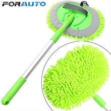 FORAUTO myjnia samochodowa Mop czyszczenie samochodu Dust Wax regulowany Mop akcesoria samochodowe narzędzie do mycia okien środek do pielęgnacji karoserii Detailing car stylizacja
