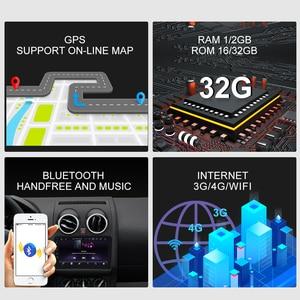 Image 4 - ISUDAR Car Radio For Nissan Qashqai 1 J10 2006 2013 2 din Android 9 Autoradio Multimedia GPS DVR AHD Camera RAM 2GB ROM 32GB USB