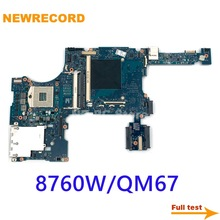 Laptop Motherboard Qm67-Ddr3 652509-501 Elitebook 8760W NEWRECORD for HP with Graphics-Slot