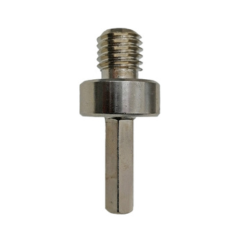BGTEC 2pc Adapter M14 Male Thread to 3/8 Hexagon Shank for Drill Core Bits Grinding Disc Professionnal High quality steel