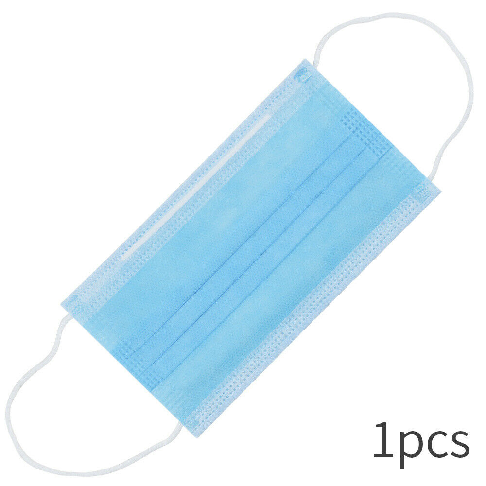 Disposable Safe Filter Breathable Protective Surgical Mask 3 Layer Filter Medical Mask Face Mouth Anti-Dust Earloops Masks-2