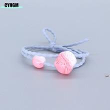 CYHGM hair rubber band  kids headwear scrunchies velvet elastic bands scrunchy in womens Hair Accessories G03