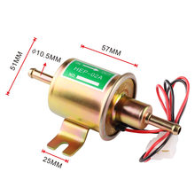 High Quality HEP-02A Low Pressure Universal Diesel Petrol Gasoline Electric Fuel Pump 12V For Car Motorcycle