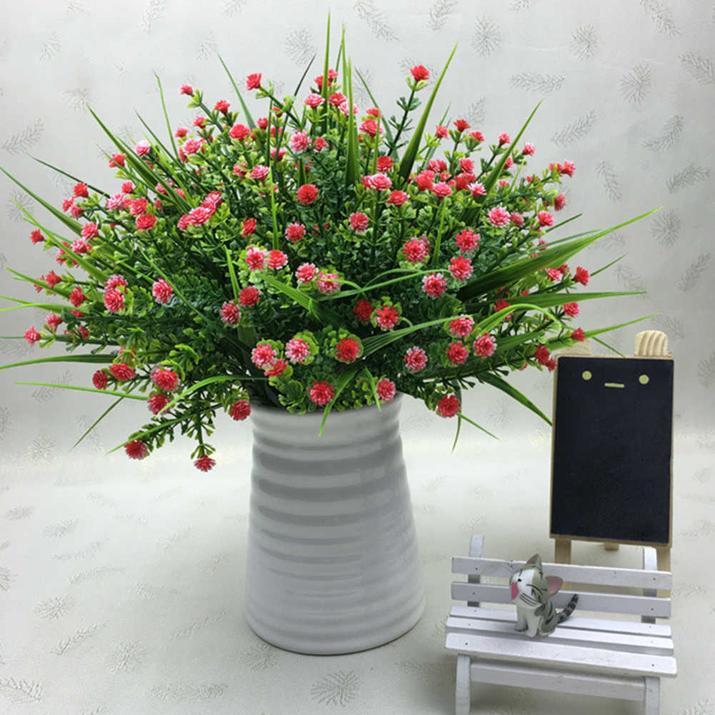 Artificial Flowers Fake Water Plants Bouquet Fake Plants Babysbreath Wedding Bridle Outdoor Home Office Christmas Decor Artificial Dried Flowers Aliexpress