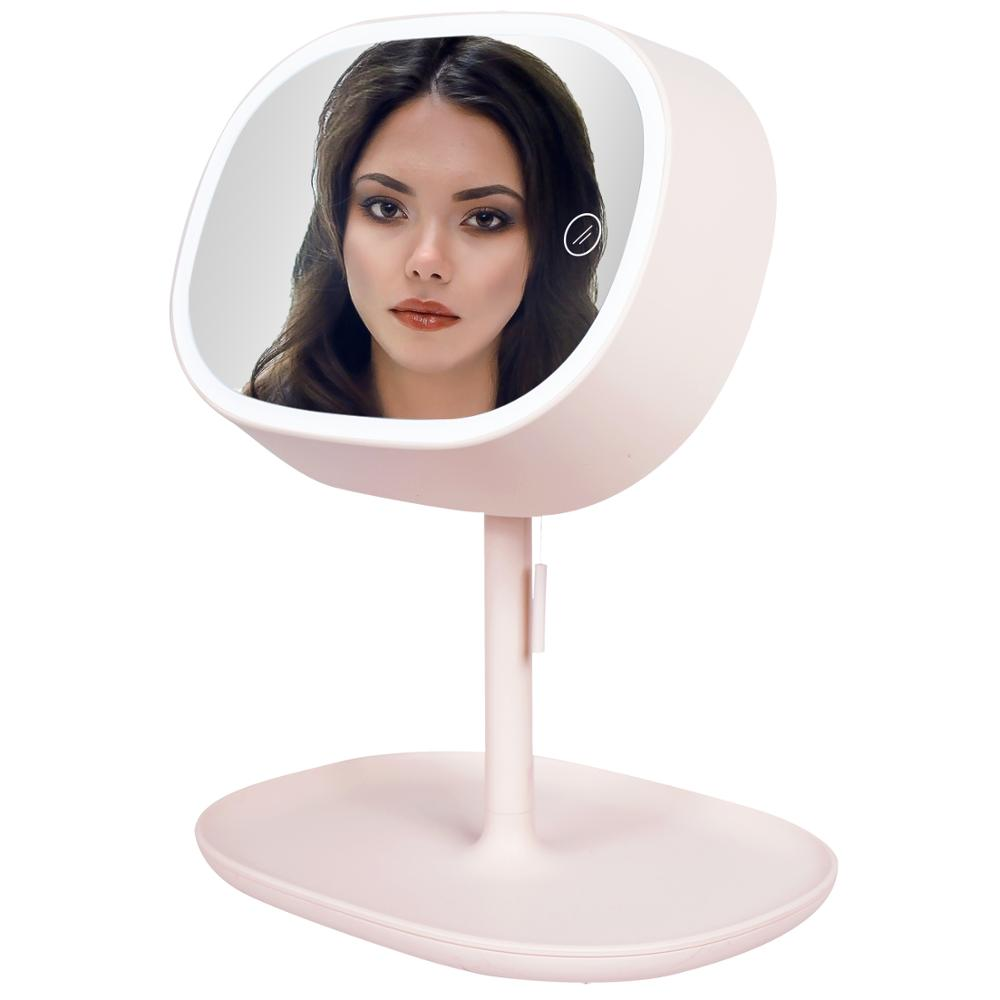Lighted Makeup Mirror With Lights, Funork Light Up LED Makeup Mirrors Vantiy Mirror With Lights