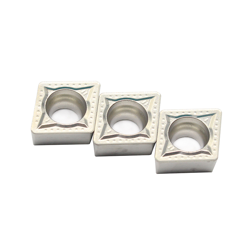 100PCS CCMT09T308 MT CT3000 Cermet Inserts Carbide Alloy Cutter Boring CNC Lathe Turning Tools Machining Steel