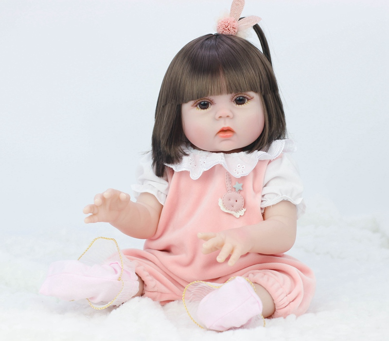 Drinking Water Pee Pee Doll includes Clothes, Diapers, Bottles, Pacifiers, Hairpins ~ 45cm