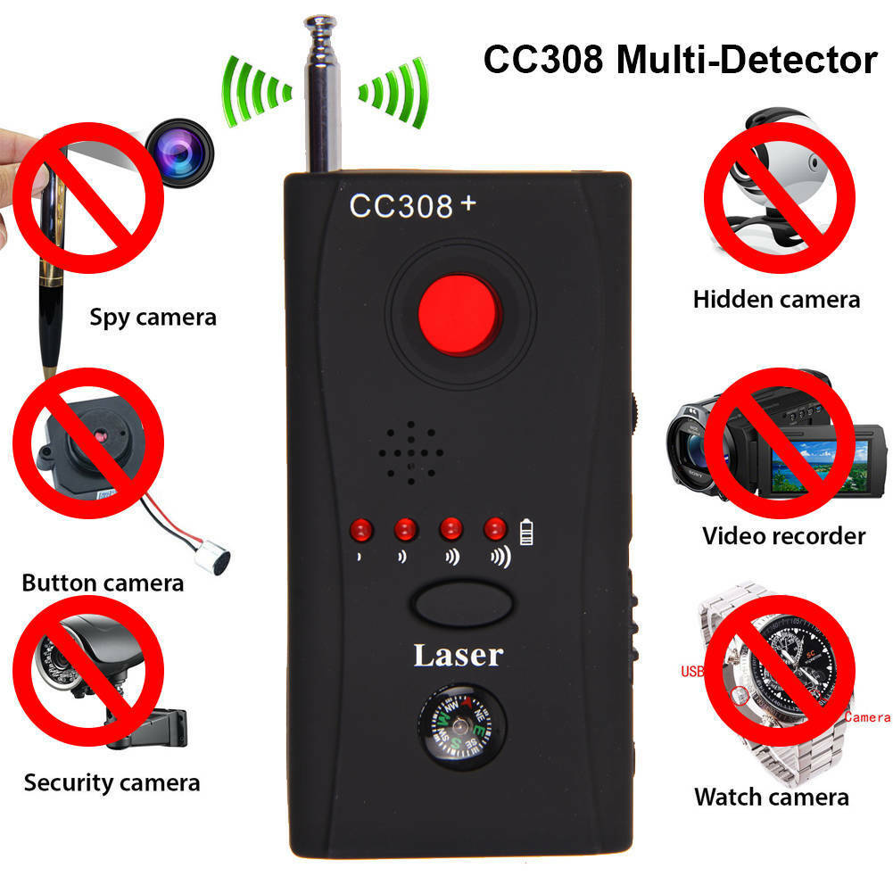 2019 Newest Fashion Anti-Spy RF Bug Detector Signal Hidden Camera Lens GSM Device Tracer Finder