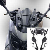Kodaskin retrovisor lateral para guidão de motocicleta  acessórios de manopla traseira para nmax 155 125 150 nmax150 nmax155