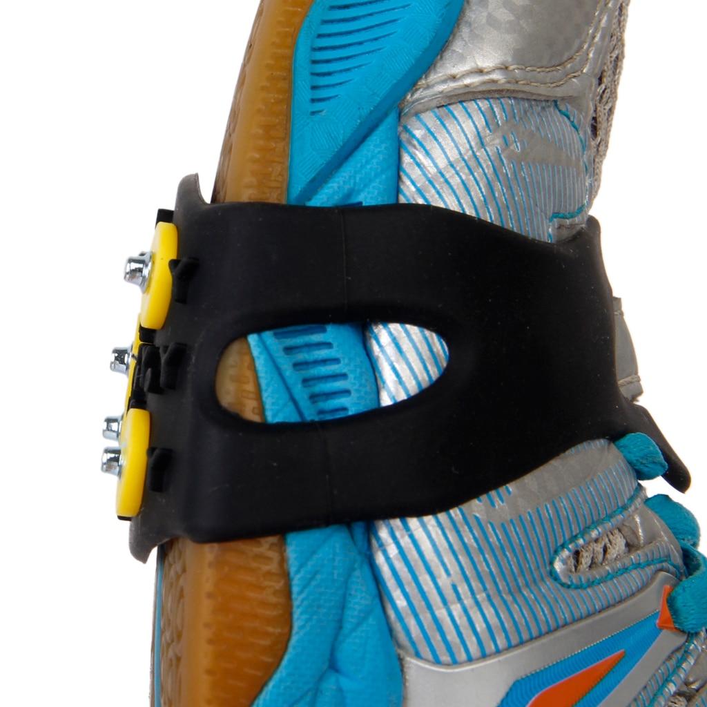 Anti-Slip 5- Snow Ice Gripper  Crampon Shoe Grip Cleat Overshoe