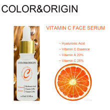 Color&Origin Vitamin C Facial Serum Collagen Hyaluronic Acid Essence Face E Oil Hydrating Wrinkle Skin Care