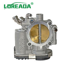 Loreada New Throttle Body Housing Assembly 55577375 55561495 for Chevrolet Aveo Aveo5 Cruze Sonic Pontiac G3 loreada throttle body for lada 2 0l 4062 1148100 bore size 60mm high performance throttle valve assembly brand new