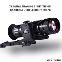 New Infrared Night Thermal Vision Handheld/Rifle Sight Scope for Hunting Animal Observation Aiming Thermal Imaging Riflescope