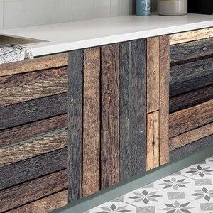 7 pcs / Set Wood Grain Floor T