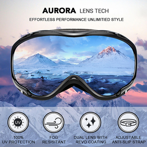 Image 2 - MAXJULI Ski Googles UV Protection Anti Fog Snow Goggles for Men Women Youth M1