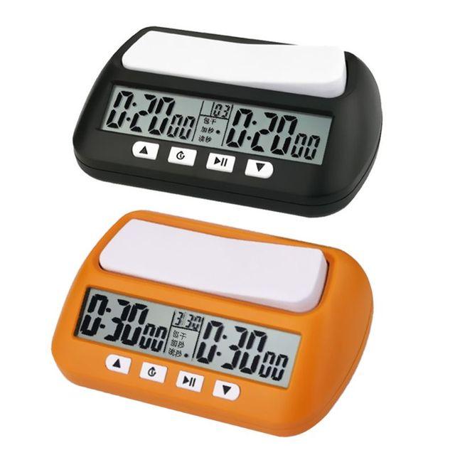 Horloge d'échecs professionnelle unisexe montre numérique compacte compte à rebours minuterie électronique jeu de société Bonus compétition compteur horaire 1
