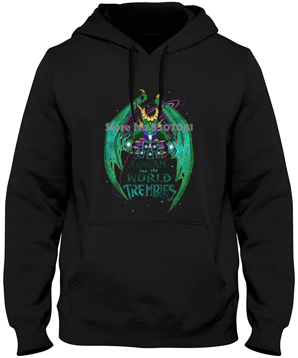 Hearthstone I Dream And The World Trembles Premium Adult Print Summer Winter Style Hot Hoodies & Sweatshirts