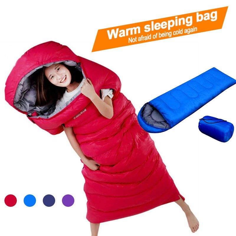210*70 см конверт спальный мешок для взрослых Кемпинг Открытый Мини прогулки пляж спальные мешки Сверхлегкий дорожная сумка весна осень