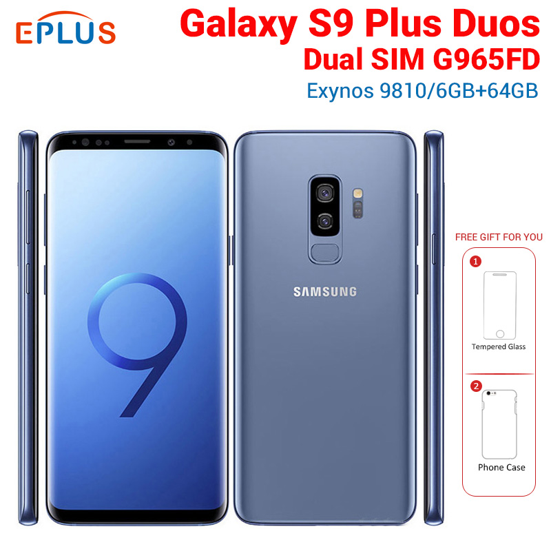Brand New Original Global Samsung Galaxy S9 Plus S9+ Duos G965FD Dual...