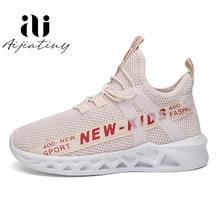 Çocuk koşu ayakkabıları kış çocuk spor ayakkabılar Tenis Infantil çocuk sepeti ayakkabıları hafif nefes kız shoes Enfant