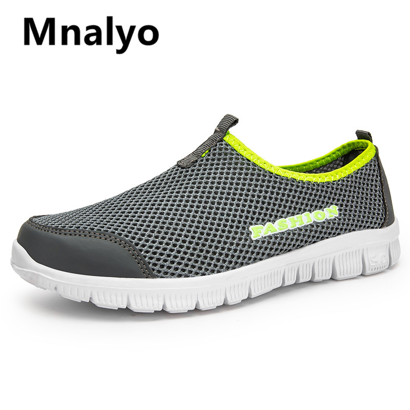 Big Size 35-46 High Quality 2020 New Fashion Mesh Breathable Comfortable Spring Summer Casual Shoes Men Shoes Sneakers