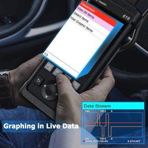 Image 4 - Lancio CR619 OBD2 strumento diagnostico per Auto motore ABS SRS Airbag leggi chiaro codice di errore Scanner automatico lancio OBD 2 Scanner aggiornamento gratuito LAUNCH X431