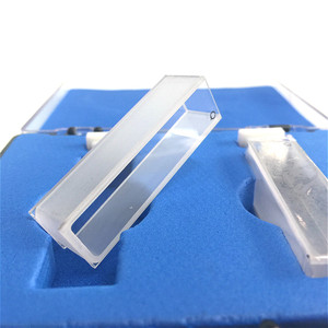 Image 5 - קוורץ קובט אור נתיב 10 mm קוורץ ספיגת תא 3.5ml נוזל מדגם תא ספקטרומטר תא Frit Sintering טכנולוגיה 2/PK