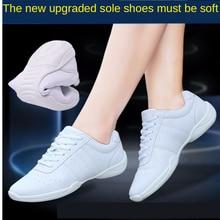 Kids Adult Aerobics Shoes White Dance Shoe