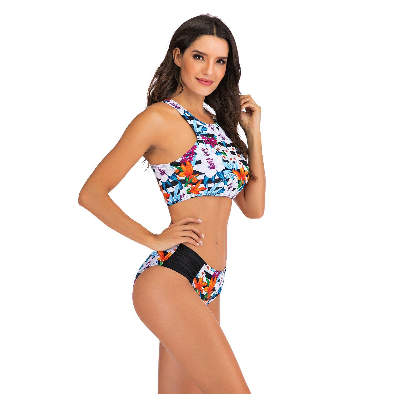 Sexy Bikinis Plus size Swimwear Women Mirco bikini 2020 mujer Two Piece Swimsuit swimming suit Beach Sport Swimsuit Set May 1